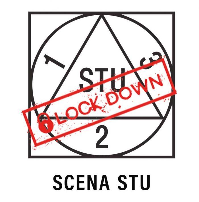 Scena STU Logotyp lockdown2