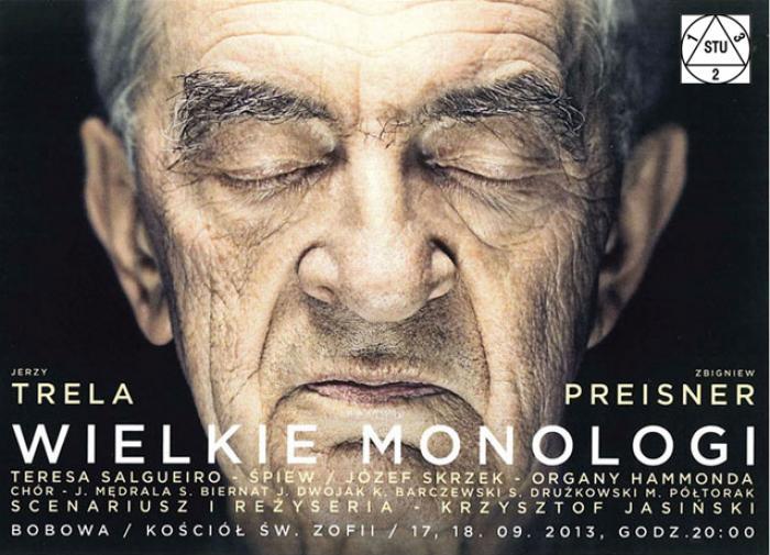 plakat wielkie monolog