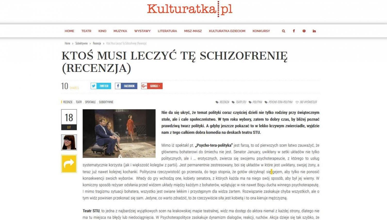 RECENZJA: Ktoś musi leczyć tę schizofrenię