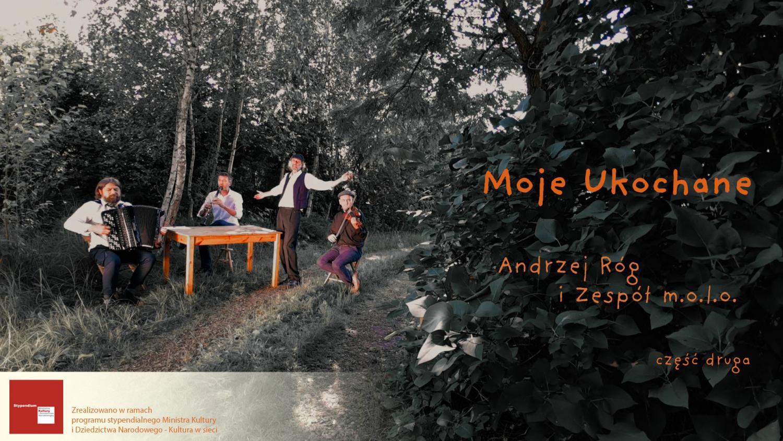 Moje Ukochane - II część  recitalu Andrzeja Roga do obejrzenia w sieci.