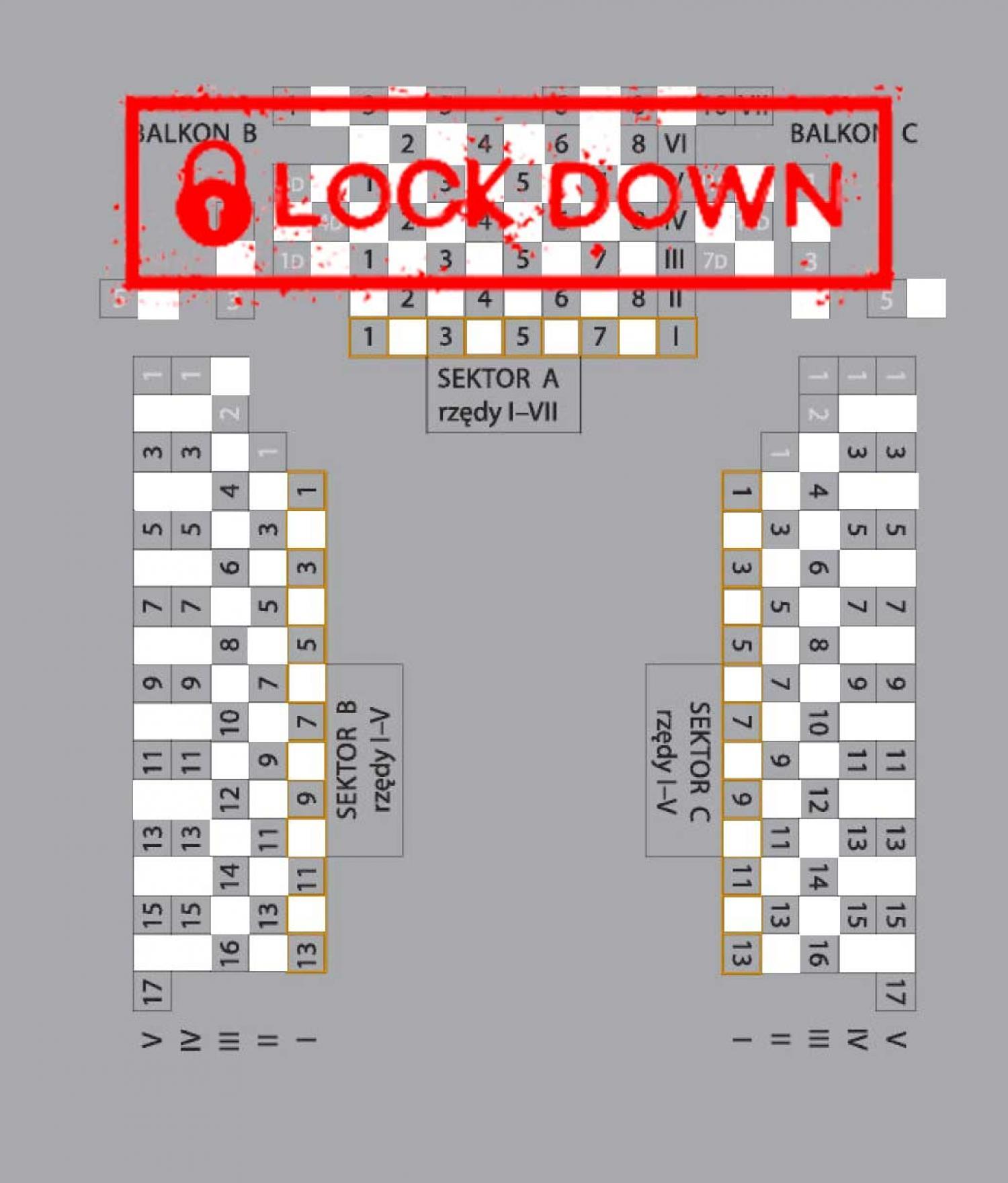 Lockdown przedłużony! Spektakle do 18 kwietnia ODWOŁANE