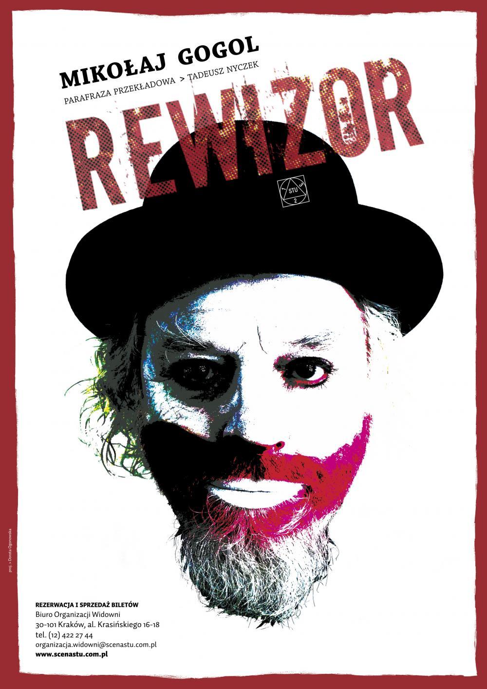 plakat Rewizor nowa wersja